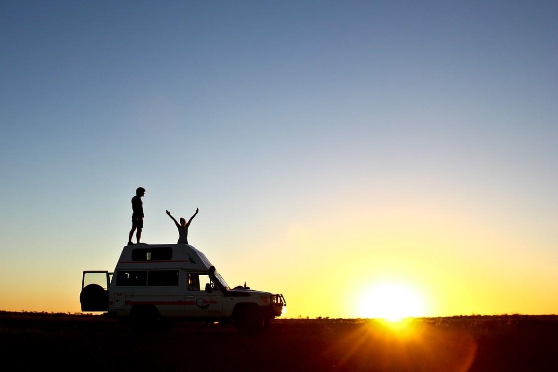 Stuart Highway, SA. Foto:Greg Snell / Tourism Australia
