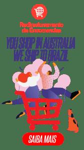 BRaustralia Redirecionamento de Encomendas