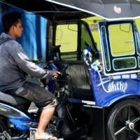 BENTOR ( Becak Motor ) Transportasi Umum Khas Gorontalo