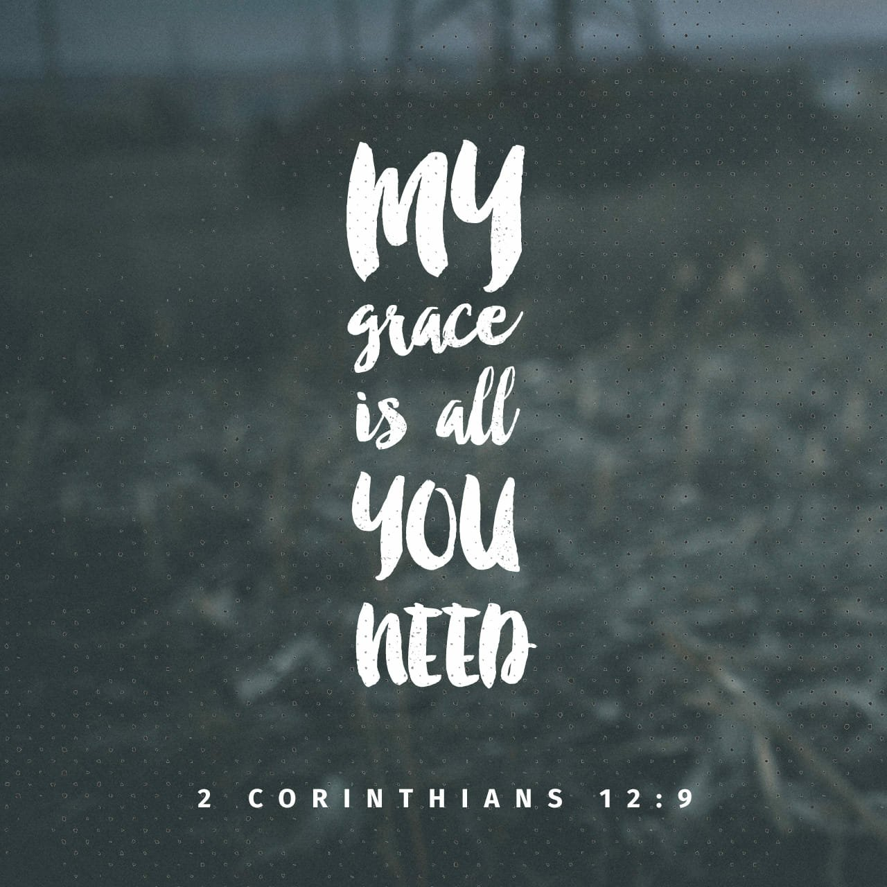 A Prayer for God's Grace