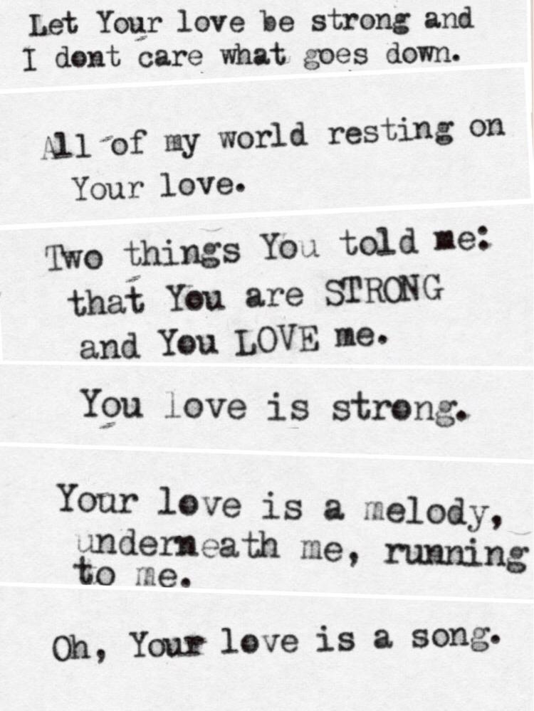 Your Love Is Strong Jon Foreman Lyrics : strong, foreman, lyrics, Sharpie, Price, Bravebluebird