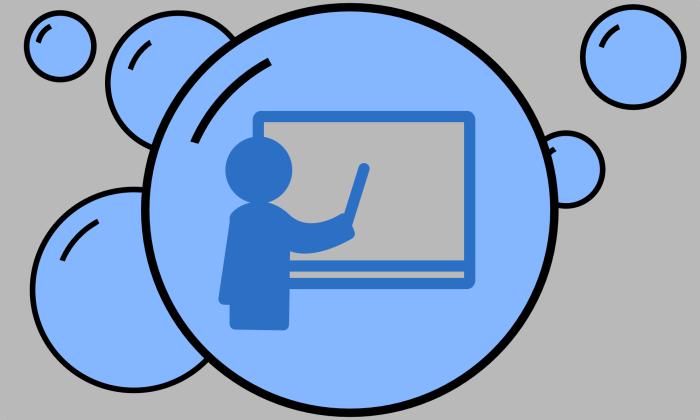Teacher in a Bubble