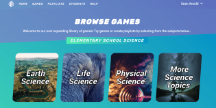 Legends of Learning game browser window