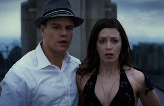 Image result for Emily Blunt and Matt Damon in The Adjustment Bureau