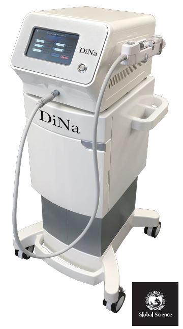 DINA ディナ 最新フェイシャルマシン 美容成分導入