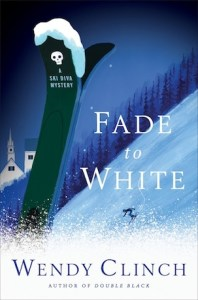 cover of fade to white a ski diva mystery by wendy clinch