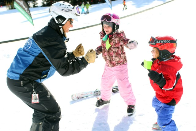 ski school at loveland ski area