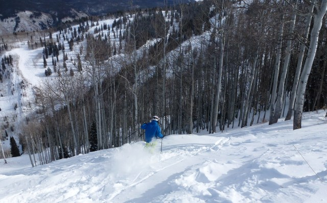Aspen Mountain, December 22, 2011.