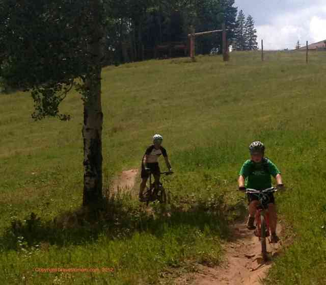 family mountain bike spruce saddle beaver creek