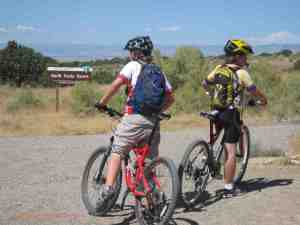 mountain biking north fruita desert