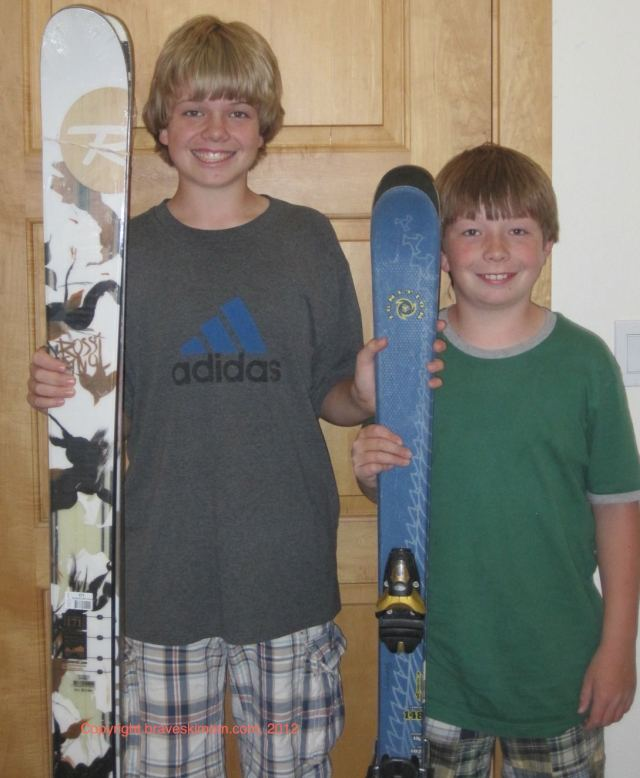 measuring ski length