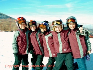 5th graders ski at powderhorn colorado