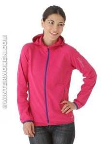 Salomon XA full zip Hoody Fancy Pink Winterwomen.com