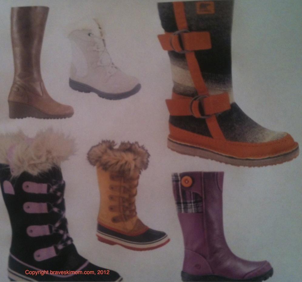 Ski Fashion 2012 2013 Stylish Winter Boots For Women And Girls
