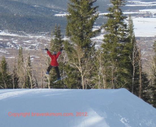 flying high at powderhorn