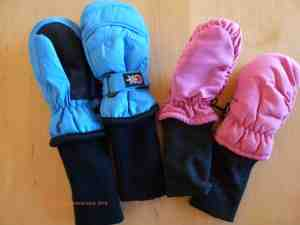 snowstoppers mittens for little kids