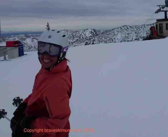 ski alta utah friends
