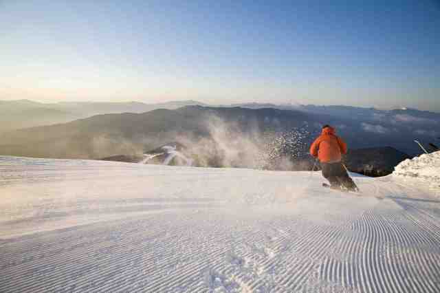 Carving the Groomers © ORDA:Dave Schmidt Whiteface New York