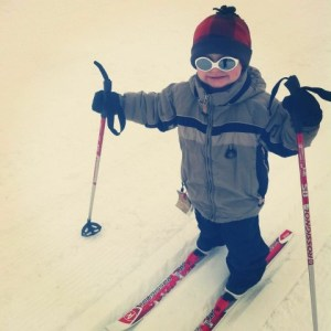 backcountry parenting nordic skiing