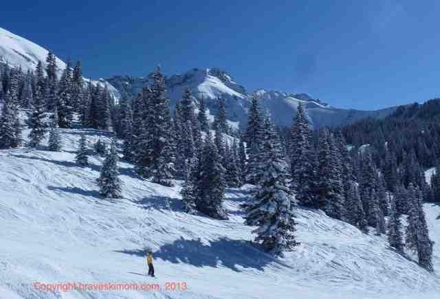 snowboard at telluride