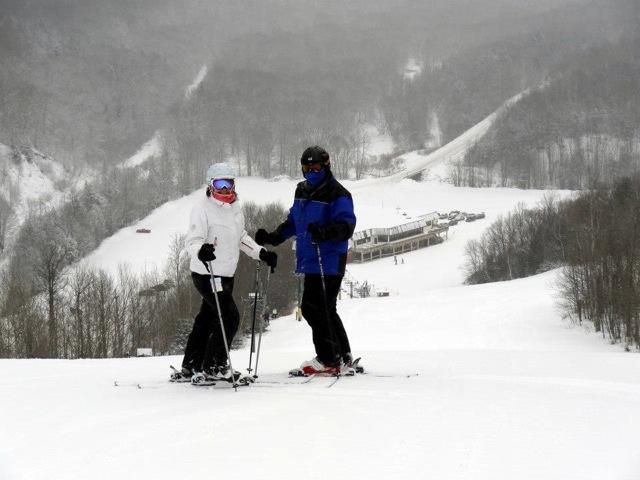 on top of Blackjack Ski Resort
