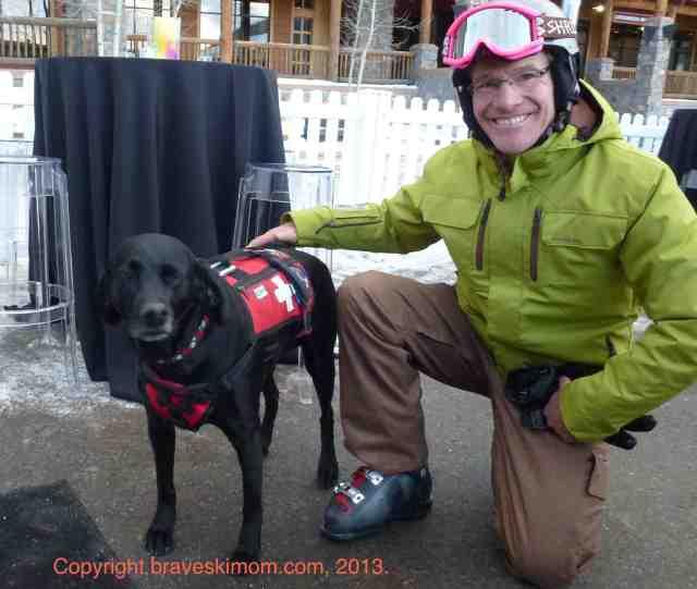 brave ski dad and kenya keystone
