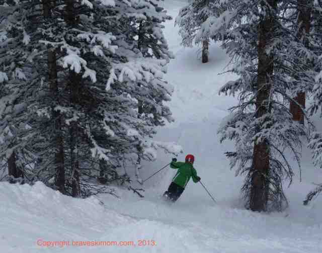 snowmass burnt mountain glades powder