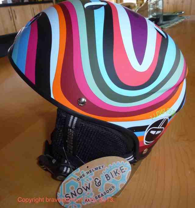 all season nutcase little nutty helmet ski bike