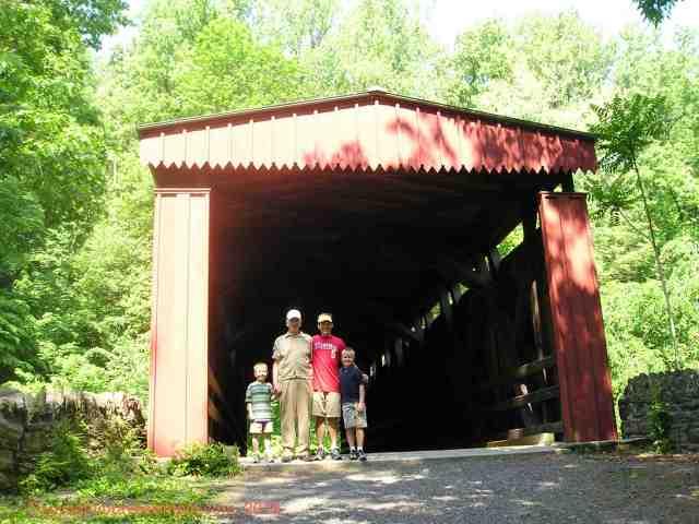 wissahickon valley trail covered bridge