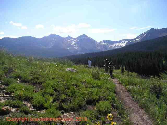 hiking lizard head pass colorado