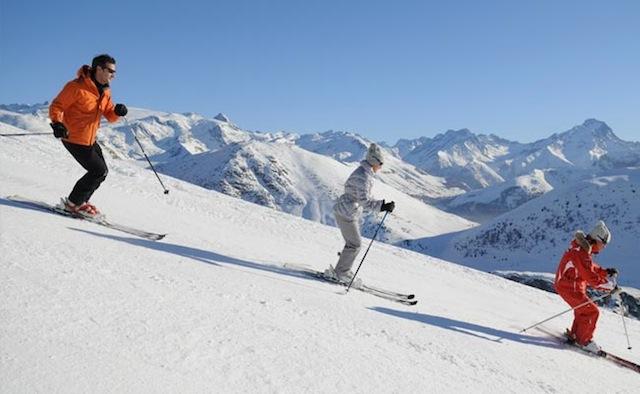 pargelato skiing via lattea italy