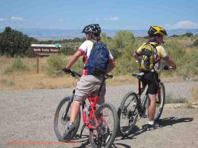 mountain biking north fruita desert