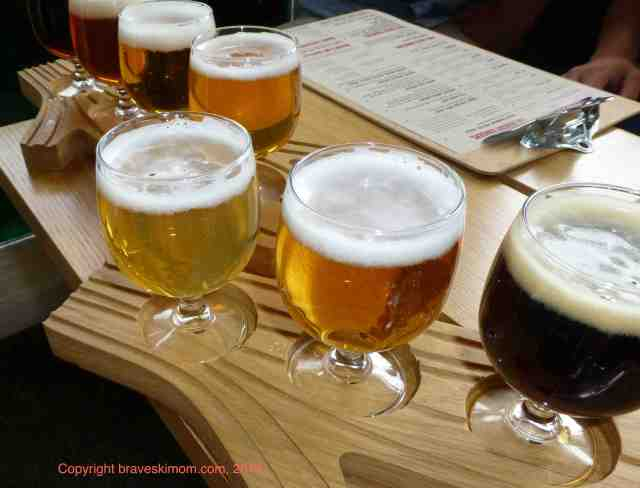 beer tasting at Ranger Station snowmass colorado