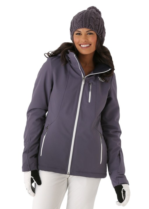 The North Face Women's Komper Jacket in Greystone Blue
