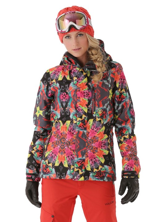 Volcom Women's Free Insulated Jacket in Black
