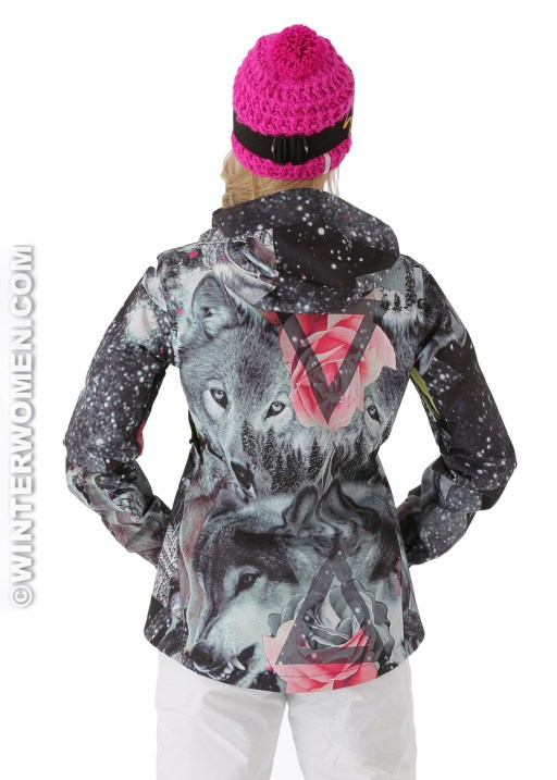 Volcom Women's Stone Jacket in Grey