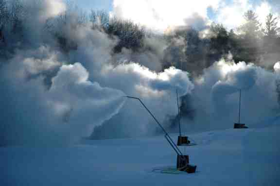ski butternut snowmaking