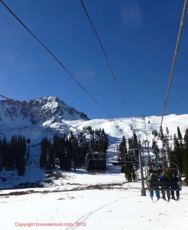 arapahoe basin early season skiing