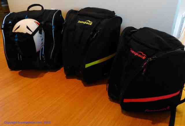ski boot backpacks kulkea and transpack