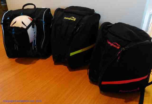 ski boot backpacks kulkea and transpack
