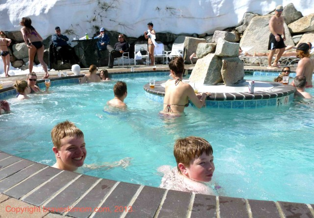 squaw valley hot tub