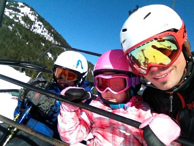 brian hopper and kids crystal mountain washington