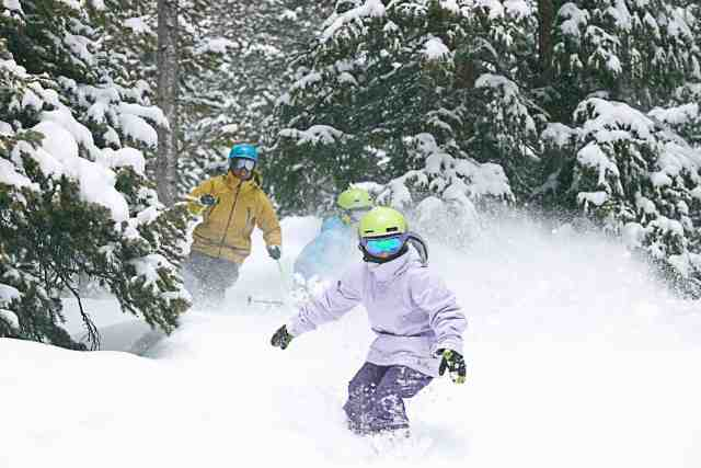 winter park powder skiing