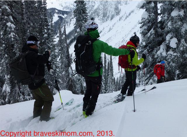 heli ski touring british columbia