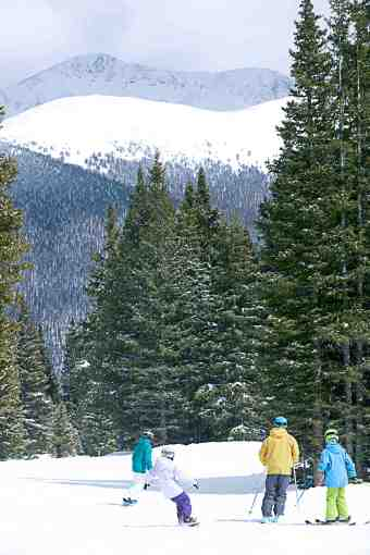 winter park family skiing