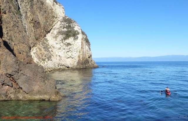 sea kayak santa cruz island