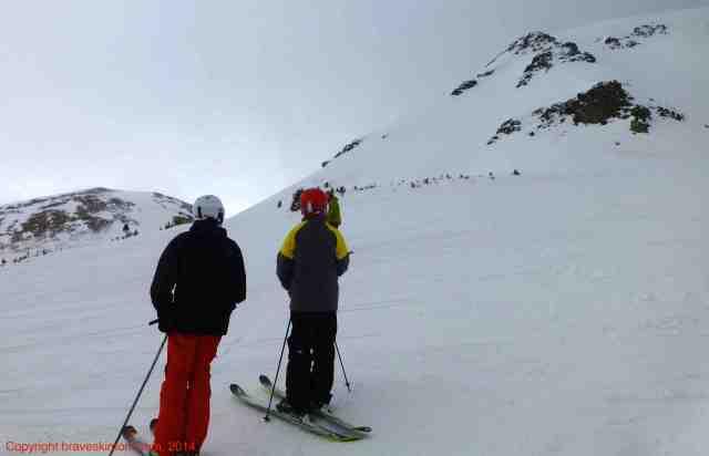 spring ski day breckenridge colorado
