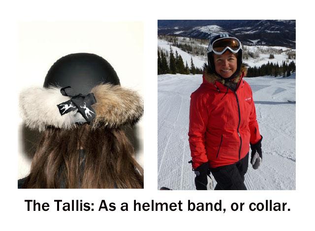 tallis helmet band or collar