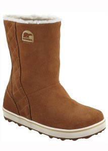 sorel glacy boot in elk