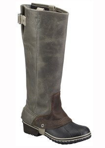 sorel slim pack riding boot